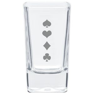 2.8 Oz. Square Shooter/Dessert Glass